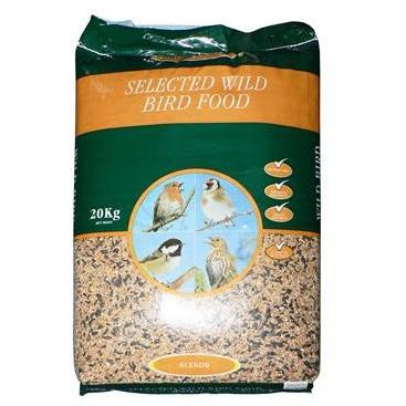 Wildbird Food 20KG, Bird, Johnston and Jeff, Pet Parlour Terenure - The Pet Parlour Terenure Dublin