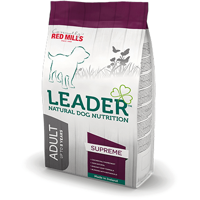 Red Mills Leader Adult Supreme Dog Food, Dry Dog Food, Red Mills, Pet Parlour Terenure - The Pet Parlour Terenure Dublin