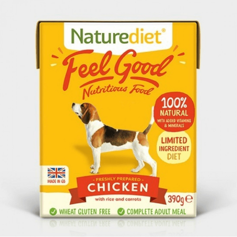Naturediet Feel Good Chicken, Wet Dog Food, Naturediet, The Pet Parlour Terenure - The Pet Parlour Terenure Dublin