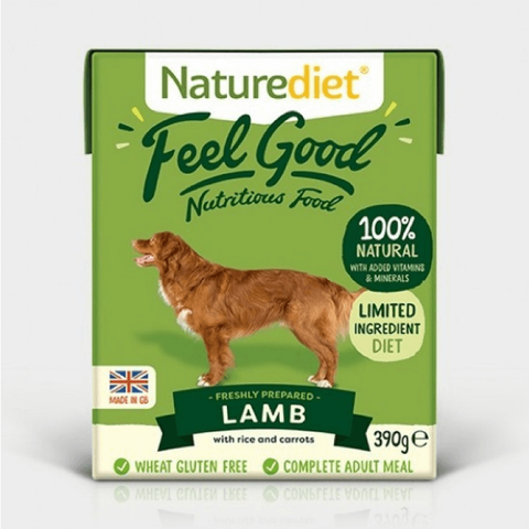 Naturediet Feel Good Lamb, Wet Dog Food, Naturediet, The Pet Parlour Terenure - The Pet Parlour Terenure Dublin