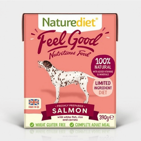 Naturediet Feel Good Salmon, Wet Dog Food, Naturediet, Pet Parlour Terenure - The Pet Parlour Terenure Dublin
