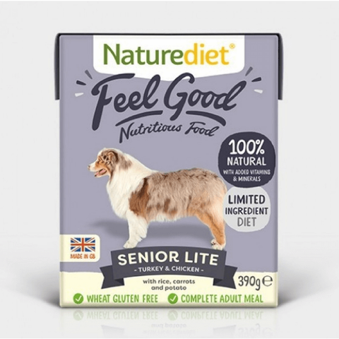 Naturediet Senior-Lite, Wet Dog Food, Naturediet, Pet Parlour Terenure - The Pet Parlour Terenure Dublin