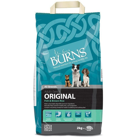 Burns Original - Fish & Brown Rice, Dry Dog Food, Burns, Pet Parlour Terenure - The Pet Parlour Terenure Dublin