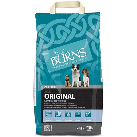 Burns Original - Lamb & Brown Rice, Dry Dog Food, Burns, Pet Parlour Terenure - The Pet Parlour Terenure Dublin