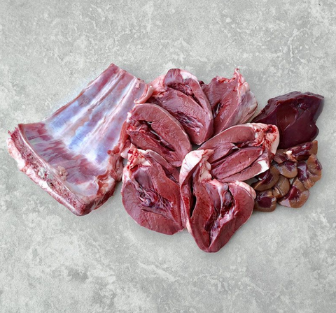 Paleo Ridge LAMB BREAST & HEART 1kg, Raw Dog Food, Paleo Ridge, Pet Parlour Terenure - The Pet Parlour Terenure Dublin