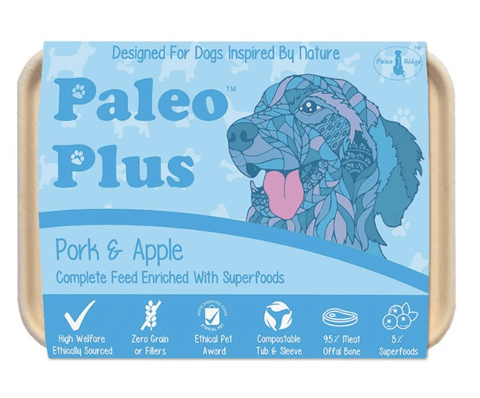Paleo Plus - Pork & Apple 500g, Raw Dog Food, Paleo Ridge, The Pet Parlour Terenure - The Pet Parlour Terenure Dublin