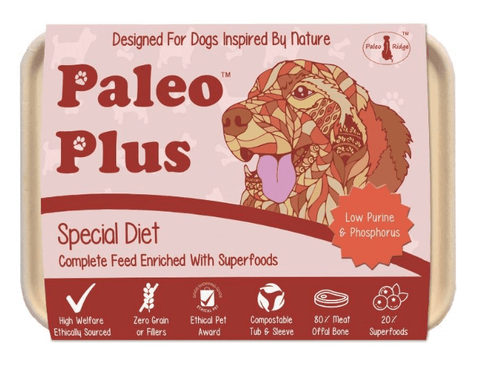 Paleo Plus - Special Diet 500g, Raw Dog Food, Paleo Ridge, The Pet Parlour Terenure - The Pet Parlour Terenure Dublin