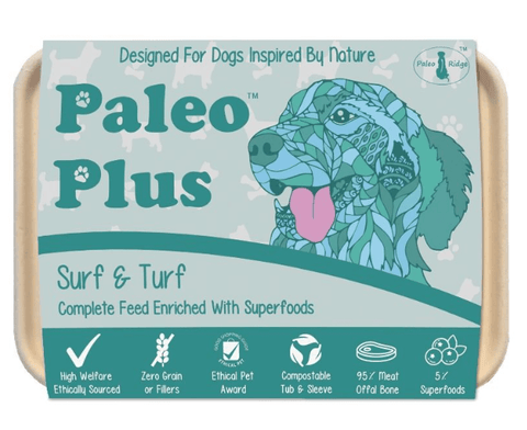Paleo Plus - Surf & Turf 500g, Raw Dog Food, Paleo Ridge, The Pet Parlour Terenure - The Pet Parlour Terenure Dublin
