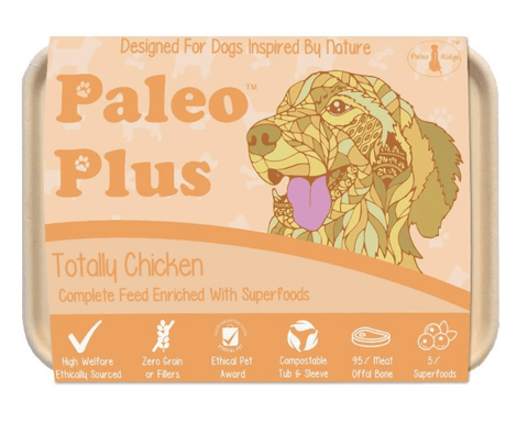 Paleo Plus - Totally Chicken 500g, Raw Dog Food, Paleo Ridge, The Pet Parlour Terenure - The Pet Parlour Terenure Dublin
