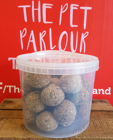 High Energy Suet Fat Balls for Wild Birds 30pk, Bird, The Pet Parlour, Pet Parlour Terenure - The Pet Parlour Terenure Dublin