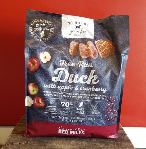 Go Native Duck with Apple & Cranberry