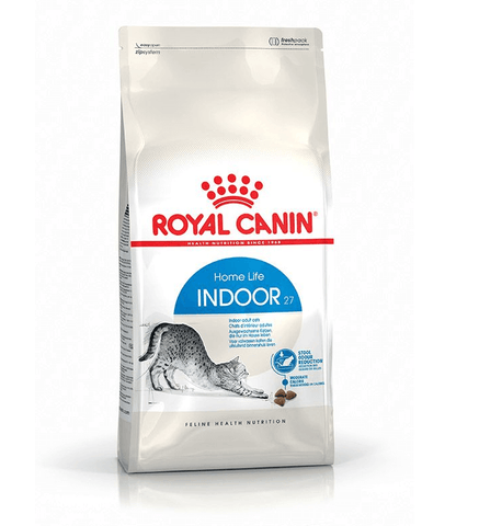 Royal Canin Indoor 27 Home Life, Dry Cat Food, Royal Canin, The Pet Parlour Terenure - The Pet Parlour Terenure Dublin
