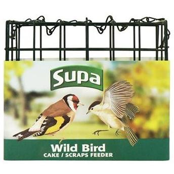 Supa Suet Block Feeder Empty 12CM, Bird, Supa, The Pet Parlour Terenure - The Pet Parlour Terenure Dublin