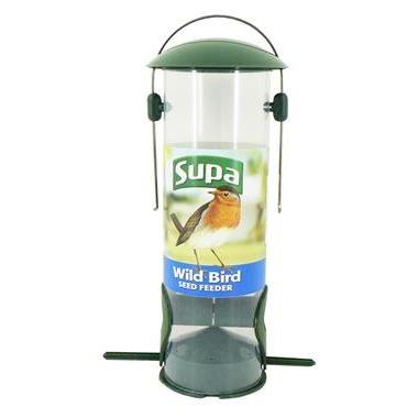 Supa Wild Bird 2Port Seed Feeder 8""