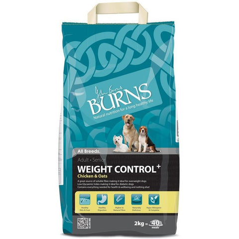 Burns Weight Control - Chicken & Oats, Dry Dog Food, Burns, Pet Parlour Terenure - The Pet Parlour Terenure Dublin