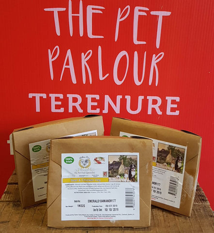 Willow Run Beef & Chicken Complete 1Kg, Raw Dog Food, Willow Run Raw, Pet Parlour Terenure - The Pet Parlour Terenure Dublin