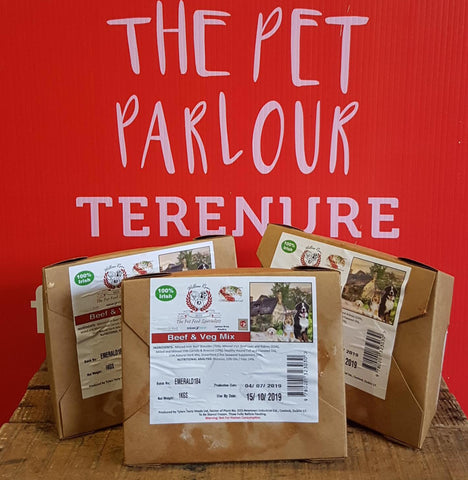 Willow Run Beef & Veg Complete 1kg, Raw Dog Food, Willow Run Raw, Pet Parlour Terenure - The Pet Parlour Terenure Dublin