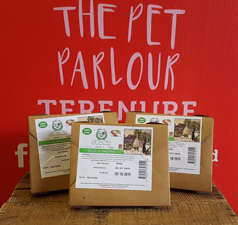Willow Run Duck & Veg Complete 1kg, Raw Dog Food, Willow Run Raw, Pet Parlour Terenure - The Pet Parlour Terenure Dublin