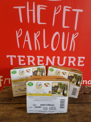 Willow Run Chicken & Beef Complete 500g, Raw Dog Food, Willow Run Raw, Pet Parlour Terenure - The Pet Parlour Terenure Dublin
