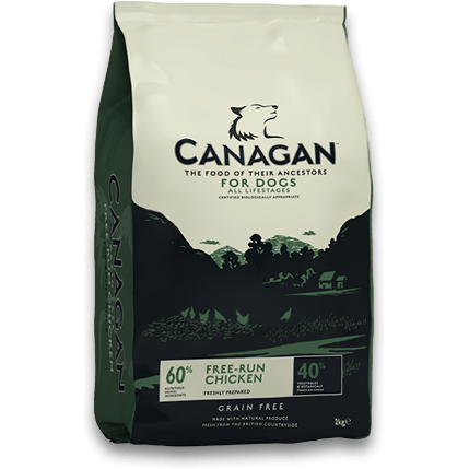 Canagan Free-Run Chicken, Dry Dog Food, Canagan, The Pet Parlour Terenure - The Pet Parlour Terenure Dublin