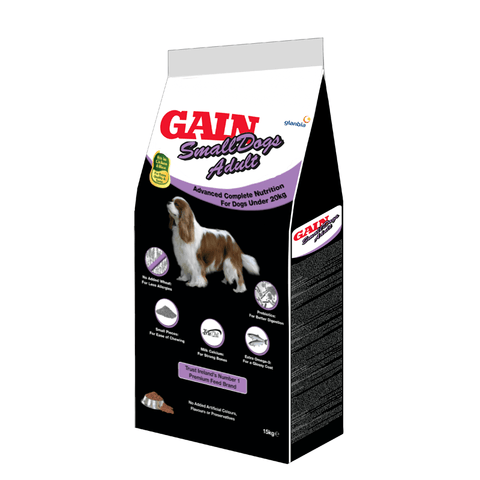 Gain Elite Small Dogs Adult, Dry Dog Food, Gain, Pet Parlour Terenure - The Pet Parlour Terenure Dublin