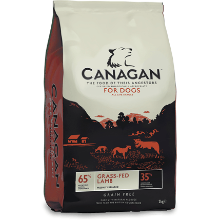 Canagan Grass-fed Lamb, Dry Dog Food, Canagan, The Pet Parlour Terenure - The Pet Parlour Terenure Dublin