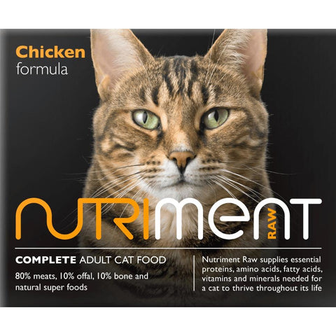 Nutriment Cat Chicken 500g, Raw Cat Food, Nutriment, Pet Parlour Terenure - The Pet Parlour Terenure Dublin