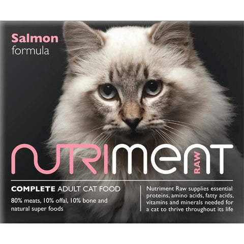 Nutriment Cat Salmon 500g, Raw Cat Food, Nutriment, Pet Parlour Terenure - The Pet Parlour Terenure Dublin