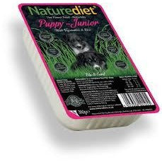 Naturediet Puppy-Junior, Wet Dog Food, Naturediet, The Pet Parlour Terenure - The Pet Parlour Terenure Dublin