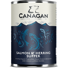Canagan Salmon & Herring Supper Can 400g, Wet Dog Food, Canagan, Pet Parlour Terenure - The Pet Parlour Terenure Dublin