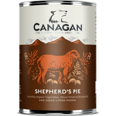 Canagan Shepherd's Pie Can 400g, Wet Dog Food, Canagan, Pet Parlour Terenure - The Pet Parlour Terenure Dublin