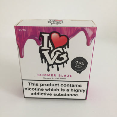 I LOVE VG - Summer Blaze 3x10ml