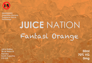 Juice Nation - Fantasy Orange