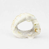 Antler Two Mice and Cheese Fetish Carving