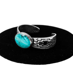 Turquoise Cuff by Everett & Mary Teller