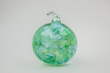 Glass Snowball and Geosphere Ornaments by George Averbeck