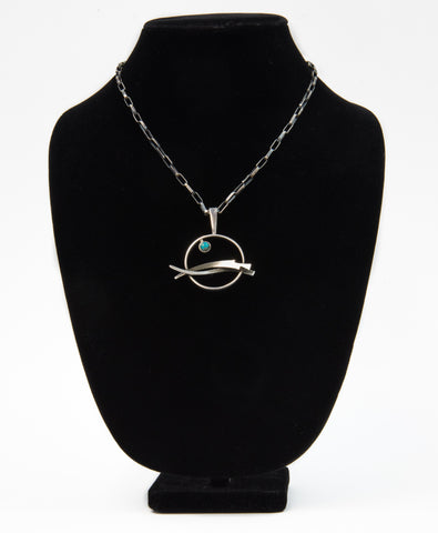 """High Tide"" Pendant by Jerry Begay"