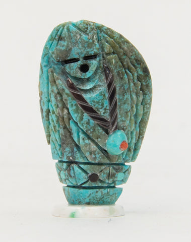 Turquoise Maiden Fetish Carving