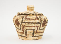 Yucca Coil Basket with Lid