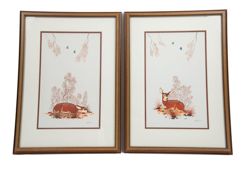 Pair of Deer by Beatien Yazz