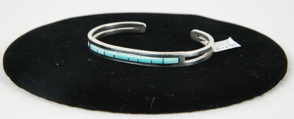 Sleeping Beauty Turquoise Bracelet by Patrick Smith