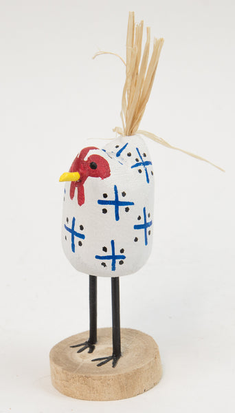 Extra-Small Folk Art Chickens by Edith John