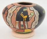 """Song of Creation"" Pot by Lawrence Namoki"
