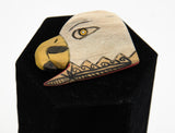 Handcarved Pins by Darin and Arthur Masawytewa