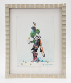 """Yei Dancer in the Snow"" by Bruce Watchman"