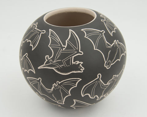 Black Bats Bowl by Adrian Trillo