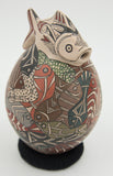 Fish Effigy Jar by Manuel Gullen