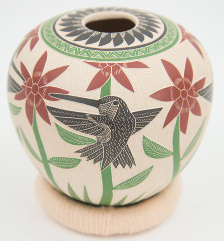 Hummingbirds Jar by Martin Quintana