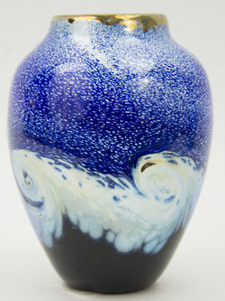 """Dark Sky"" Vase by George Averbeck"