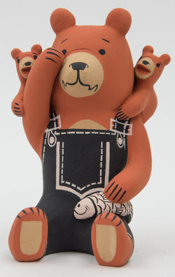 Brown Storyteller Bear by Dorothy Herrera